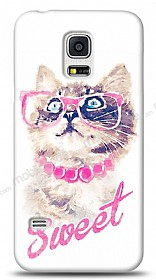 Dafoni Samsung Galaxy S5 mini Sweet Cat K�l�f