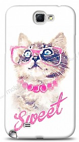 Samsung N7100 Galaxy Note 2 Sweet Cat Kılıf