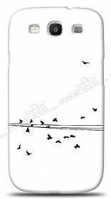 Samsung i9300 Galaxy S3 Flying Birds Kılıf