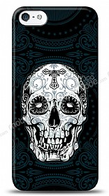 Dafoni iPhone SE / 5 / 5S Black Skull K�l�f