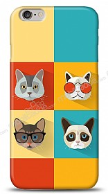 iPhone 6 Four Cats Kılıf