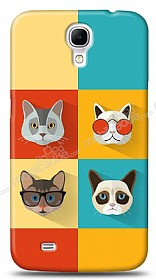 Samsung Galaxy Mega 6.3 Four Cats Kılıf