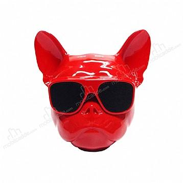 Cortrea AeroBull Bulldog Kırmızı Mini Blueooth Hoparlör