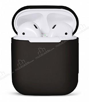 AirPods Siyah Silikon Kılıf