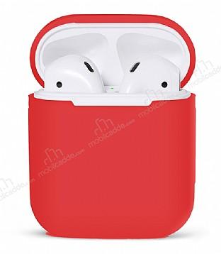 AirPods Kırmızı Silikon Kılıf