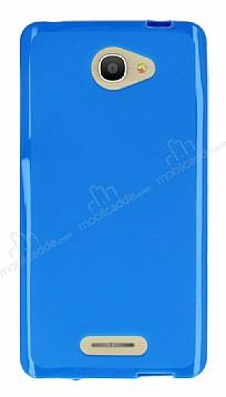 Alcatel POP 4S (5.5) Mavi Silikon Kılıf