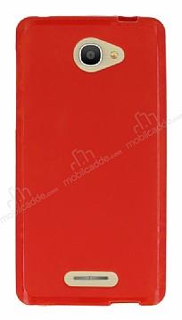 Alcatel POP 4S (5.5) Kırmızı Silikon Kılıf