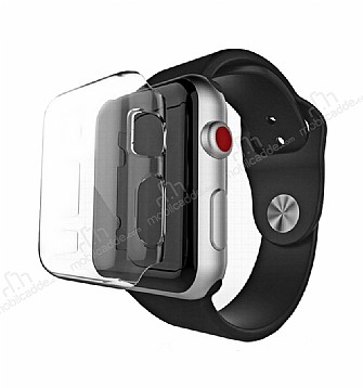 Apple Watch / Watch 2 / Watch 3 42mm Şeffaf Kristal Kılıf