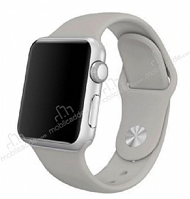 Apple Watch Gri Silikon Kordon (42 mm)
