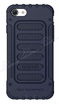Araree Wrangleri iPhone 7 / 8 Ultra Koruma Midnight Blue Kılıf