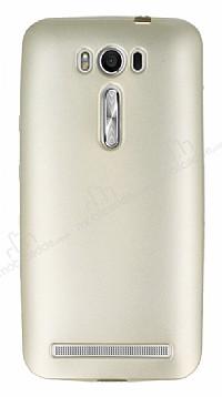 Asus ZenFone 2 Laser 5 inç Mat Gold Silikon Kılıf