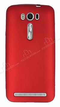 Asus ZenFone 2 Laser 5,5 inç Mat Kırmızı Silikon Kılıf