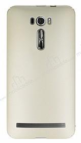 Asus ZenFone 2 Laser 5.5 inç Tam Kenar Koruma Gold Rubber Kılıf