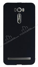 Asus ZenFone 2 Laser 5.5 inç Tam Kenar Koruma Siyah Rubber Kılıf