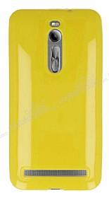 Asus ZenFone 2 Sarı Silikon Kılıf