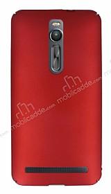 Asus ZenFone 2 ZE551ML Tam Kenar Koruma Kırmızı Rubber Kılıf