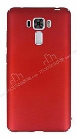 Asus Zenfone 3 Laser ZC551KL Tam Kenar Koruma Kırmızı Rubber Kılıf