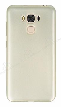 Asus ZenFone 3 Max ZC553KL Mat Gold Silikon Kılıf
