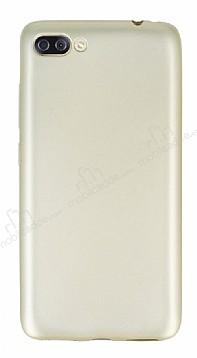 Asus Zenfone 4 Max ZC554KL Mat Gold Silikon Kılıf