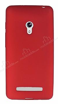 Asus ZenFone 5 Mat Kırmızı Silikon Kılıf