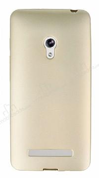 Asus ZenFone 5 Mat Gold Silikon Kılıf