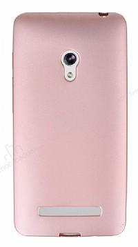 Asus ZenFone 5 Mat Rose Gold Silikon Kılıf