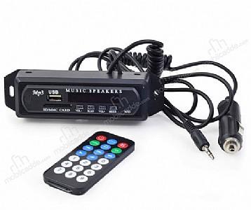 Aux USB / SD Dönüştürücü Uzaktan Kumandalı MP3 Oynatıcı
