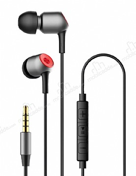 Baseus Encok H02 Mikrofonlu Kulakiçi Siyah Kulaklık