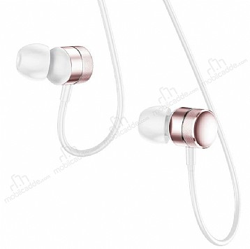 Baseus Encok H04 Mikrofonlu Kulakiçi Rose Gold Kulaklık