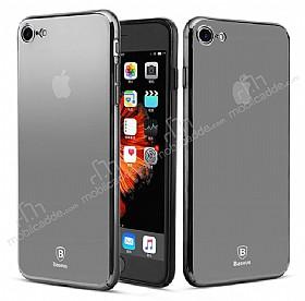 Baseus Glass iPhone 7 Siyah Rubber Kılıf