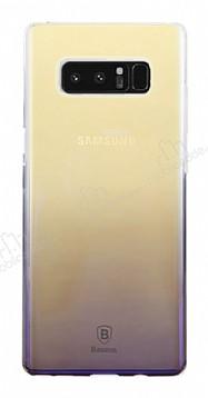 Baseus Glaze Samsung Galaxy Note 8 Mor Rubber Kılıf