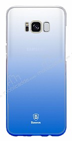 Baseus Glaze Samsung Galaxy S8 Plus Mavi Rubber Kılıf