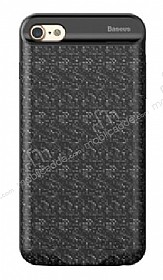 Baseus iPhone 7 / 8 Siyah Bataryalı Kılıf