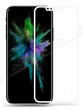 Baseus iPhone X Beyaz Cam Ekran Koruyucu
