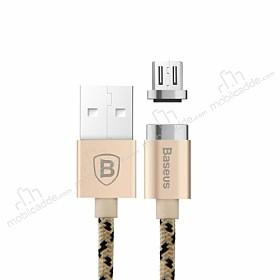 Baseus Micro USB Manyetik Dayanıklı Gold Data Kablosu 1m