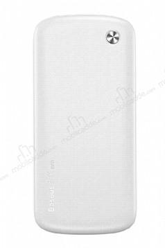 Baseus Plaid 10000 mAh Lightning + Micro USB Powerbank Beyaz Yedek Batarya