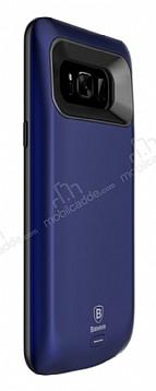Baseus Samsung Galaxy S8 Plus 5500 mAh Bataryalı Lacivert Kılıf
