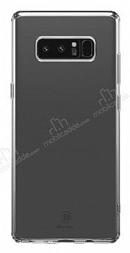 Baseus Simple Samsung Galaxy Note 8 Siyah Silikon Kılıf