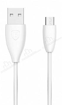 Baseus Small Pretty Micro USB Beyaz Data Kablosu 1m