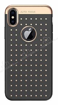 Baseus Star Lighting iPhone X Siyah Silikon Kılıf