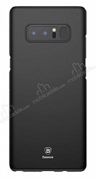 Baseus Thin Samsung Galaxy Note 8 Tam Kenar Siyah Rubber Kılıf