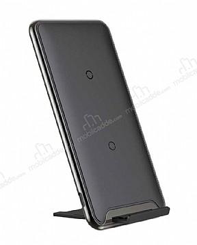 Baseus Three-Coil Siyah Kablosuz Şarj Cihazı
