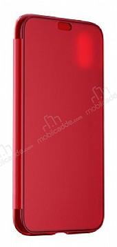 Baseus Touchable iPhone X İnce Kapaklı Kırmızı Kılıf