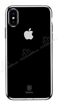 Baseus Simple iPhone X Şeffaf Silikon Kılıf