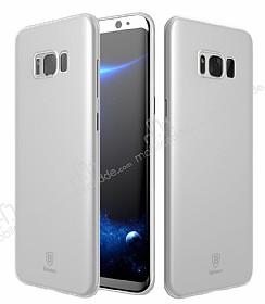 Baseus Wing Samsung Galaxy S8 Ultra İnce Şeffaf Rubber Kılıf