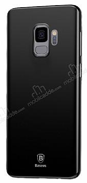 Baseus Wing Samsung Galaxy S9 Plus Ultra İnce Siyah Rubber Kılıf