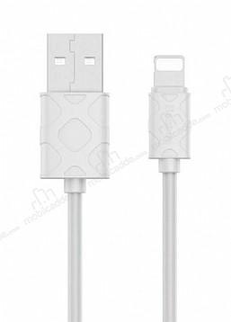 Baseus Yaven Beyaz Lightning Data Kablosu 1m