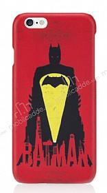 Batman iPhone 6 / 6S Kırmızı Rubber Kılıf