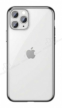 Benks Magic Glitz iPhone 11 Pro Max Silver Silikon Kılıf