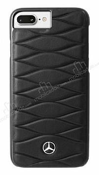 BMW iPhone 6 Plus / 6S Plus / 7 Plus / 8 Plus Gerçek Deri Siyah Rubber Kılıf